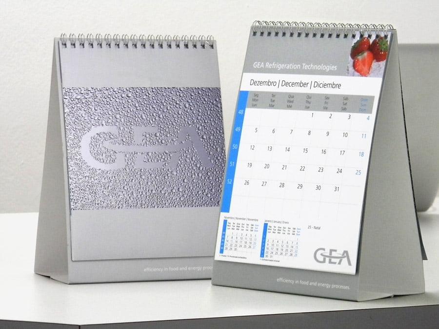 Calend rio de mesa gea equipgraf gr fica - Calendario de mesa ...
