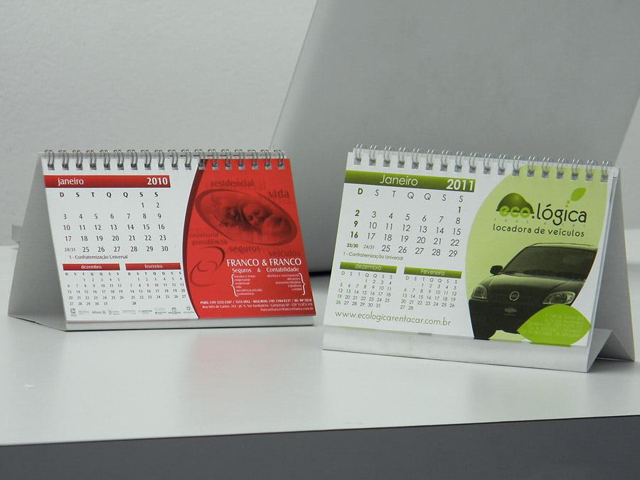 Calend rio de mesa b sico equipgraf gr fica - Calendario de mesa ...